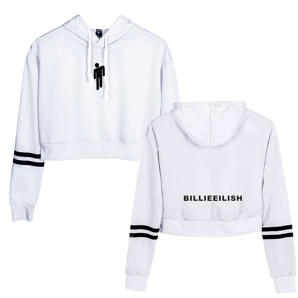 billie eilish hooded sweatshirt