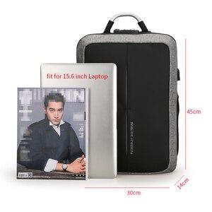 Image 5 - Mark Ryden mochila antirrobo con recarga USB para hombre, morral con diseño de bloqueo TSA sin llave, a la moda, para negocios y viajes