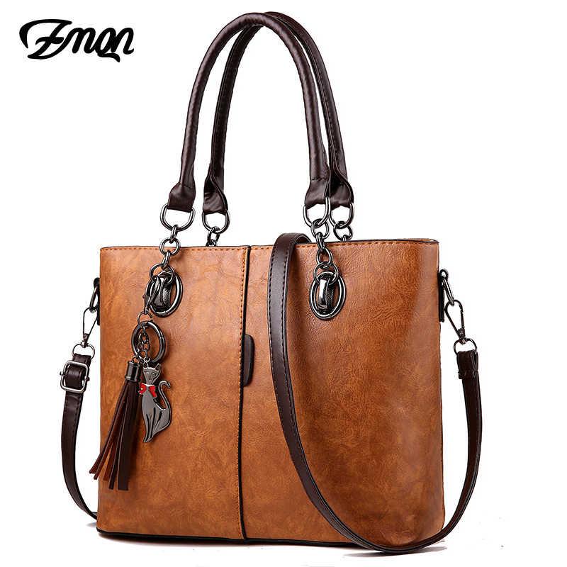 07ac8b14bb67 ZMQN роскошные сумки женские сумки дизайнерские 2018 Большие женские сумки  для женщин Твердые сумка на плечо