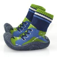 KiDaDndy כותנה עם תחתון גומי רך גרבי תינוק להחליק אנטי לבגדי תינוקות פעוט גרביים לילדים גרבי נעל HJS7174