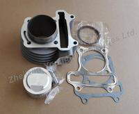 Scooter ATV 139QMB GY6 50 Cc 39mm Upgrade To 120cc 52mm Big Bore Kit 52mm Cylinder