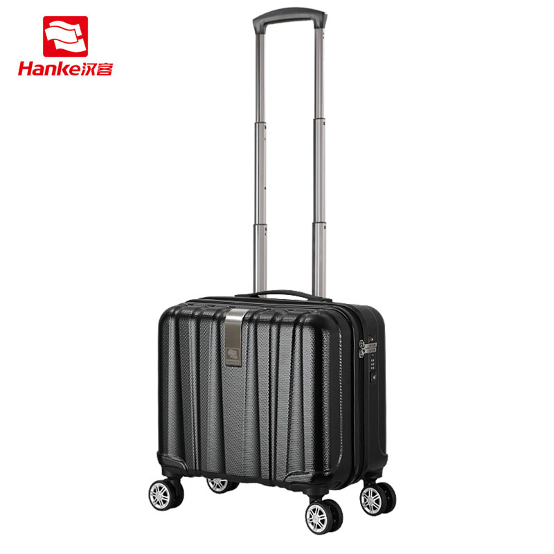 Hanke Business Suitcase Rolling Luggage For Men Spinner Trolley Female Carry-Ons Women Luggage TSA Lock Travel Boarding Case new 2024 inches business trolley case pc students travel luggage mute spinner rolling suitcase combination lock boarding box