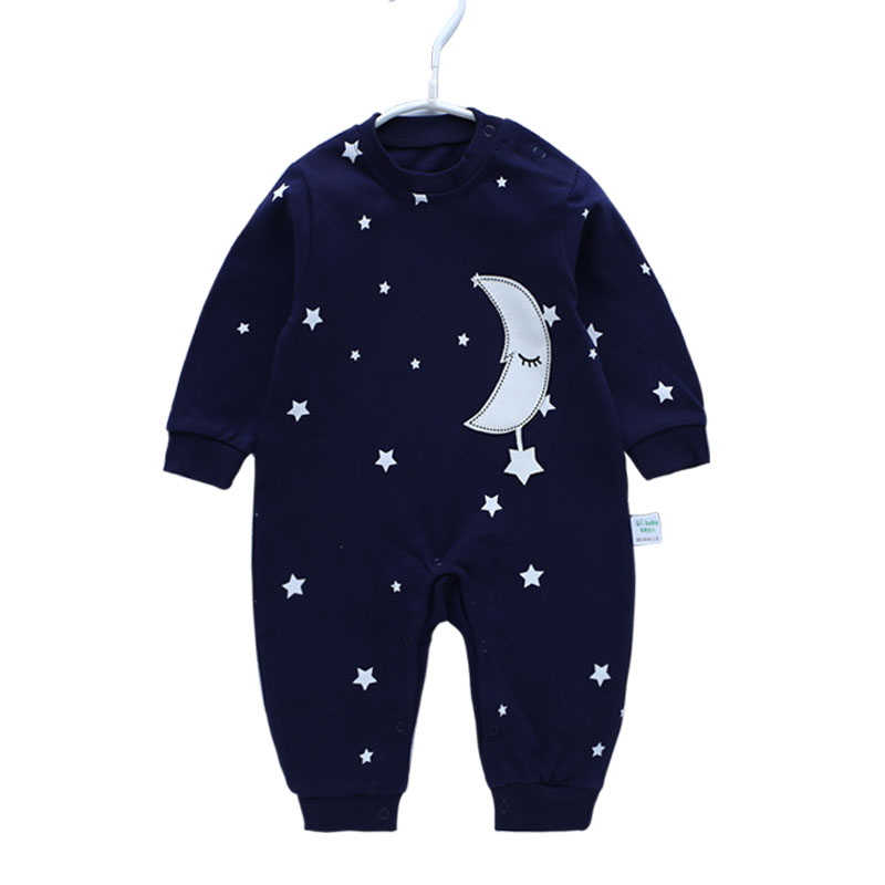 Infant New Born Baby Boy Rompers Baby Girl Rompers Clothes Overalls Newborn Baby Overall Clothing Jumpsuit Long Sleeve Jumpsuits 2018 summer style baby rompers newborn baby boy girl clothes infant clothing blue and red short sleeve cartoon printing jumpsuit