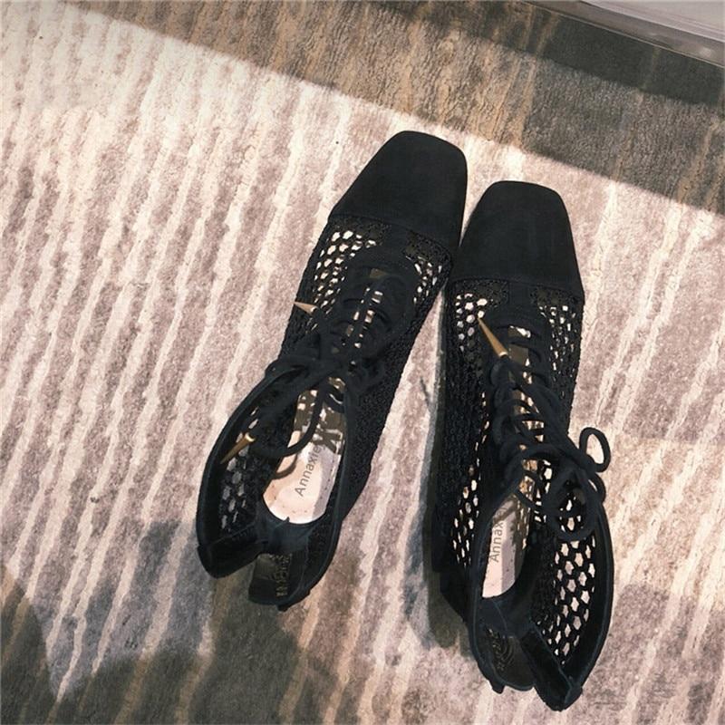Zapatos Vrouw Show show Tenis Feminino lazo Cordones Sexy T Zip Toe Verano Cruzadas De Volver Schoenen Botas As Con as Mujer Show TqCxwH8