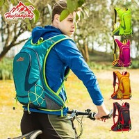 Cycling Trip Run 18L Backpack Running Sports Bag Outdoor Riding Multi function Men Women Bike Breathable Light Reflective Strip