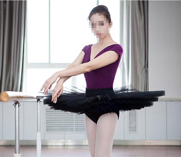 Envío gratuito nuevo Ballet profesional tutú falda adulto Ballet clásico traje tutú baile vestido 4 colores