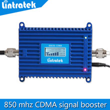 High quality LCD Display 850 mhz signal repeater,mini celular 70dB cdma mobile signal booster mobile phone amplifier