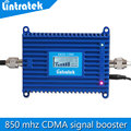 Alta qualidade Display LCD 850 mhz repetidor de sinal, mini amplificador 70dB cdma celular sinal móvel impulsionador do telefone móvel