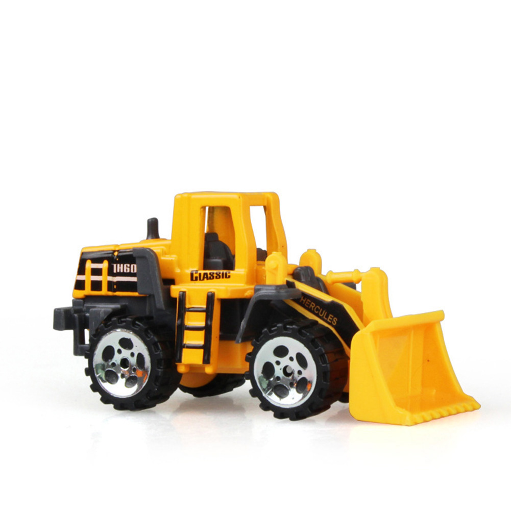 Kids Toys With A Belt Engineering Model Car Excavator Plastic Gift For Children Boys Truck Recommend