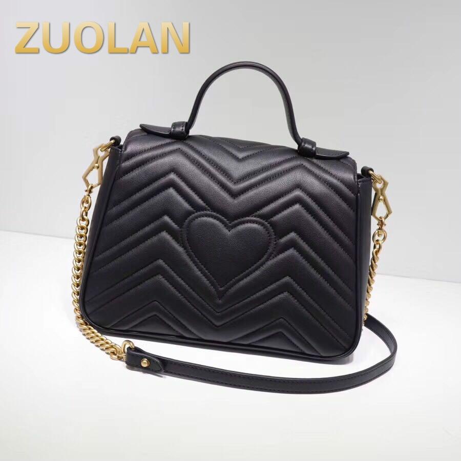 Bagaj ve Çantalar'ten Omuz Çantaları'de 2019 yüksek kaliteli kadın çanta kadınlar için, lüks marka high end gerçek deri çanta, çapraz vücut çanta ile kadınlar için bir omuz'da  Grup 1