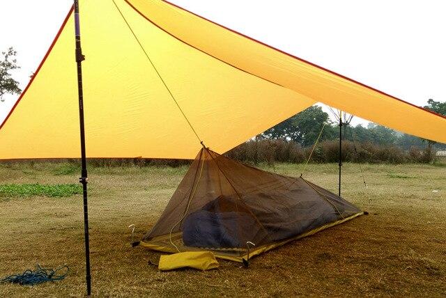 2016 only 230G Ultralight Outdoor C&ing inner Tent Summer 1 Single Person Mesh Tent Body Inner & 2016 only 230G Ultralight Outdoor Camping inner Tent Summer 1 ...