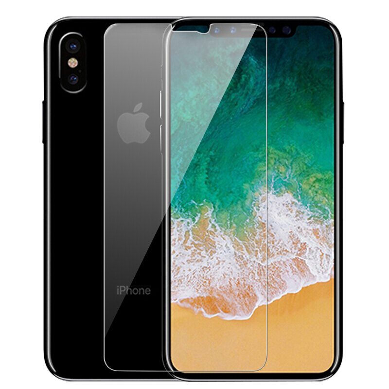 Tempered Glass For iPhone 8 7 Plus 6 6s Plus X XS XR XS MAX 2018 Screen Protector Glass Film For iPhone 8 7 6 6S XS Plus 5 5S SE