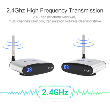 REDAMIGO 2.4GHz IR Remote Extender 150m Wireless AV Transmitter & Receiver  Digital STB Sharing Device Transmission RTE220