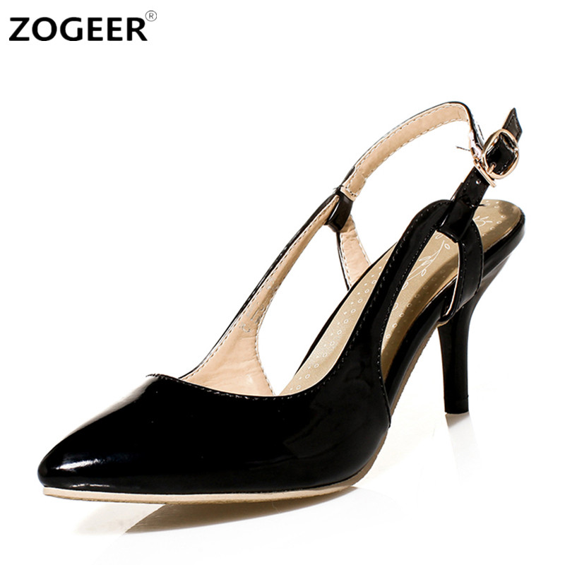 Plus size 45 Rome Fashion Women's Sandals 2017 Summer Shoes Woman Sexy Black red Cut-outs Casual Medium Heels Ladies Sandals gdgydh fashion summer women shoes heels 2018 new arrivals sexy cut outs open toe thick heel black rome platform sandals woman