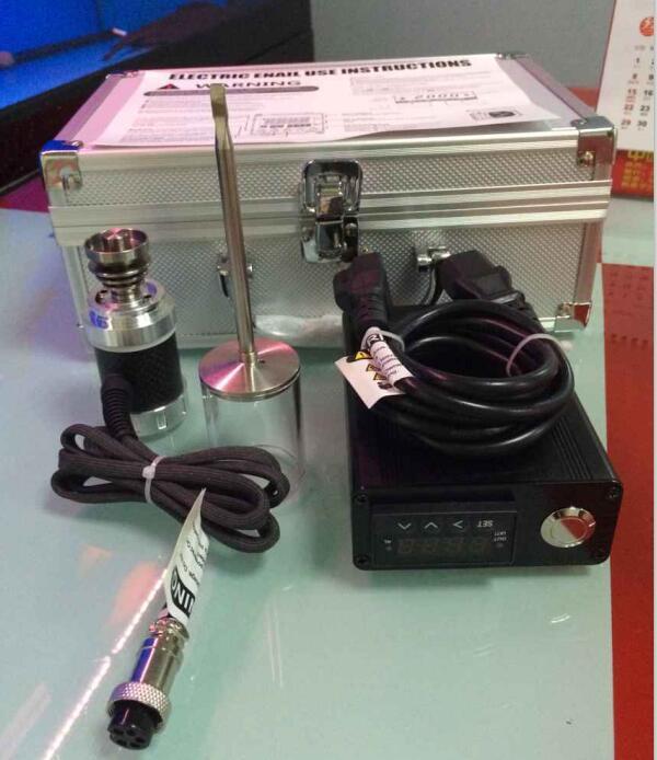 E Nail Kit Digital Elektronik E Kuku Dab Titanium Kuku Domeless D - Barang-barang rumah tangga