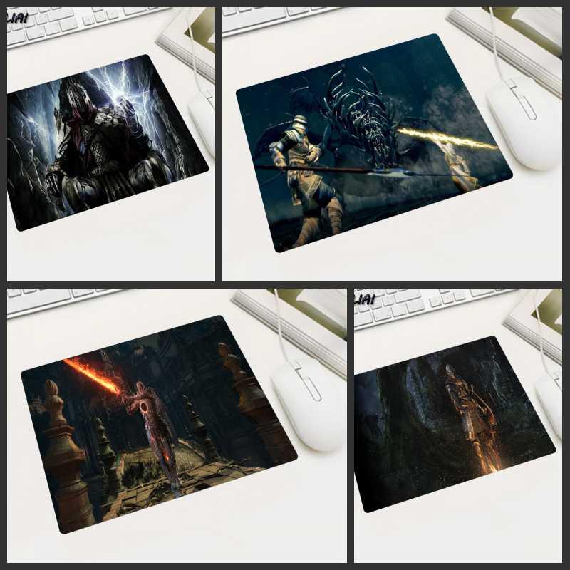 XGZ видео обои Коврик для мышки для ноутбука геймер маленький размер игровой коврик для мыши маленький и портативный для ноутбука Dark Souls Players ...
