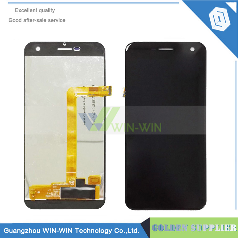 ФОТО Black For wileyfox spark Full New LCD Display Panel Screen Touch Screen Digitizer Assembly for Wileyfox Spark lcd