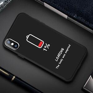 Image 5 - Matowy futerał na iPhone X XS Max XR 5 5S SE 6 6 S Plus 7 8 Plus miękka TPU krzemu czarny streszczenie na telefony pokrywa Coque dla iPhone XS Max