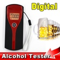 Digital Alcohol Tester Professional High Accuracy Easy Use Alcohol Breath Analyzer Tester Sensitive LCD With Backlit Display
