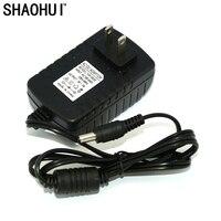 1000 шт 9 V 2 A AC 100 V 240 V адаптер конвертер постоянный ток 9V 2A Питание США Plug 5,5mm x 2,1 2,5 мм для светодио дный CCTV Бесплатная доставка