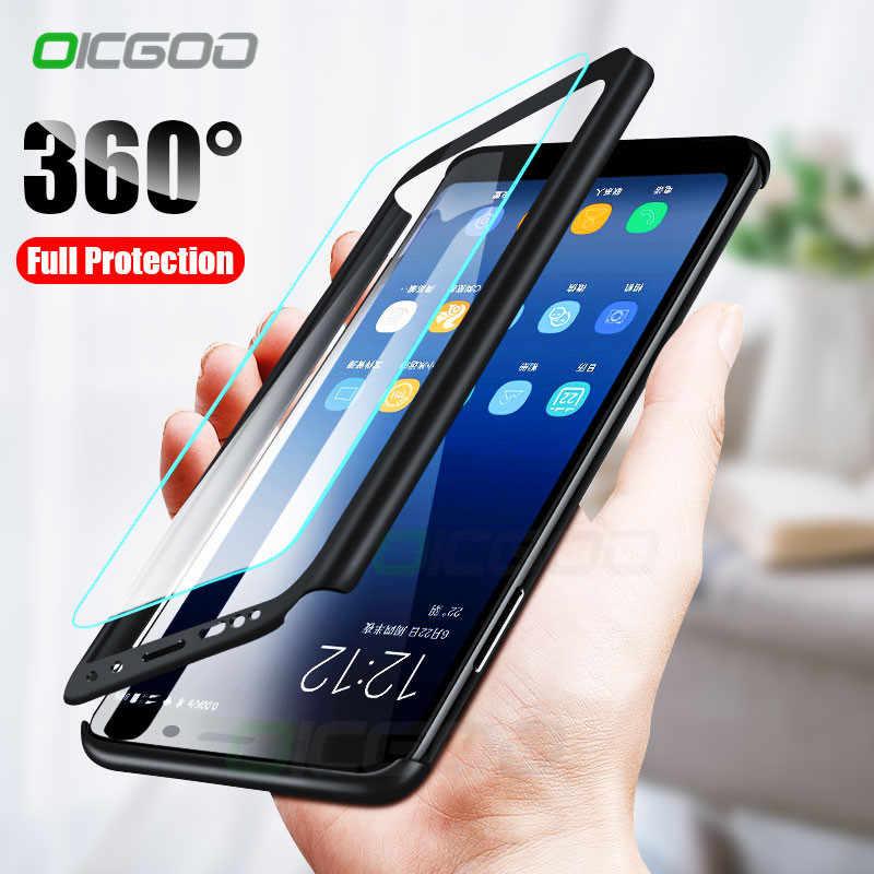 super popular fe4fc d556c Luxury 360 Full Cover Cases For Samsung Galaxy S10 Plus S10E S9 S8 ...