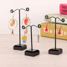 Creative Delicate Jewelry Display Rack Jewelry Stand Holder for Earrings Braelet Necklace Pendant Organizer Hanging Hanger a(China)