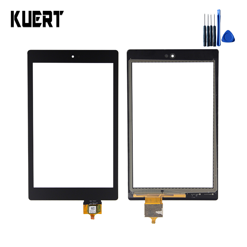 Tablet Touch Panel Screen Digitizer Glass For Amazon Kindle Fire HD 8 6th HD8 Touchscreen Replacement Accessories Parts +Tools