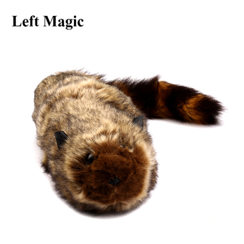 The Rocky Raccoon Magic Robbie Magic Tricks Stage Street Illusions Gimmick Accessories Prop Funny Appear Spring Animal Magic vanishing cole bottle empty magic tricks coke stage close up illusions accessories mentalism fun magic props classic toy gimmick