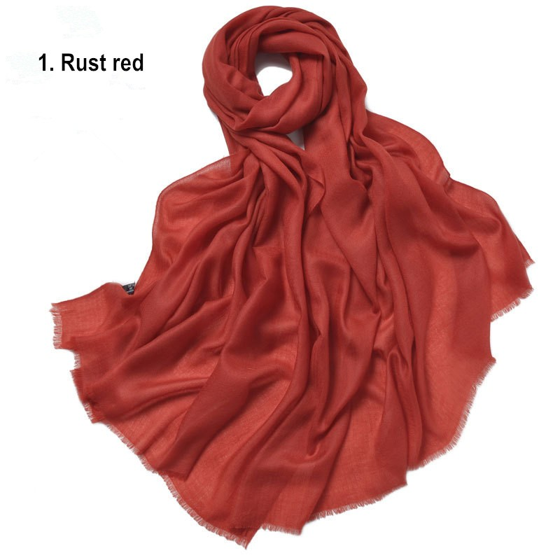1. Rust red