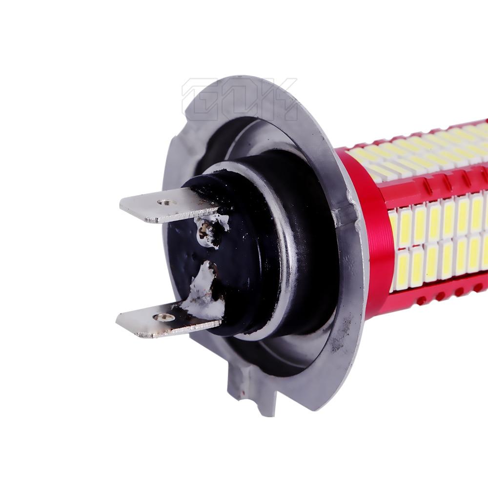 2 x H4 H8 H11 9005 9006 h7 smd 4014 led h7 106smd LED-lamp Running - Autolichten - Foto 5
