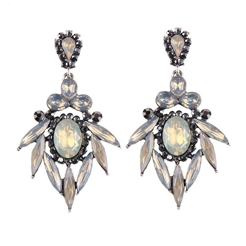 Best lady Simple Pinky Color Charm Bijoux For Women Jewelry Luxury Maxi Statement Earrings Hot Sale Fashion Drop Dangle Earrings