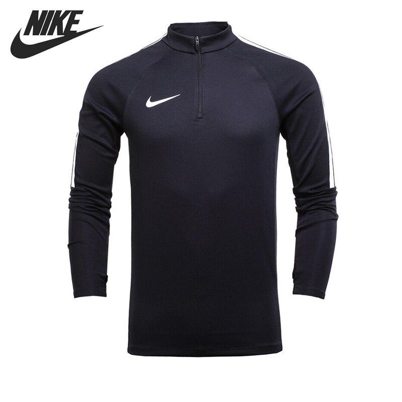 ФОТО Original New Arrival 2017 NIKE AS M NK SQD DRIL TOP Men's T-shirts Long sleeve Sportswear
