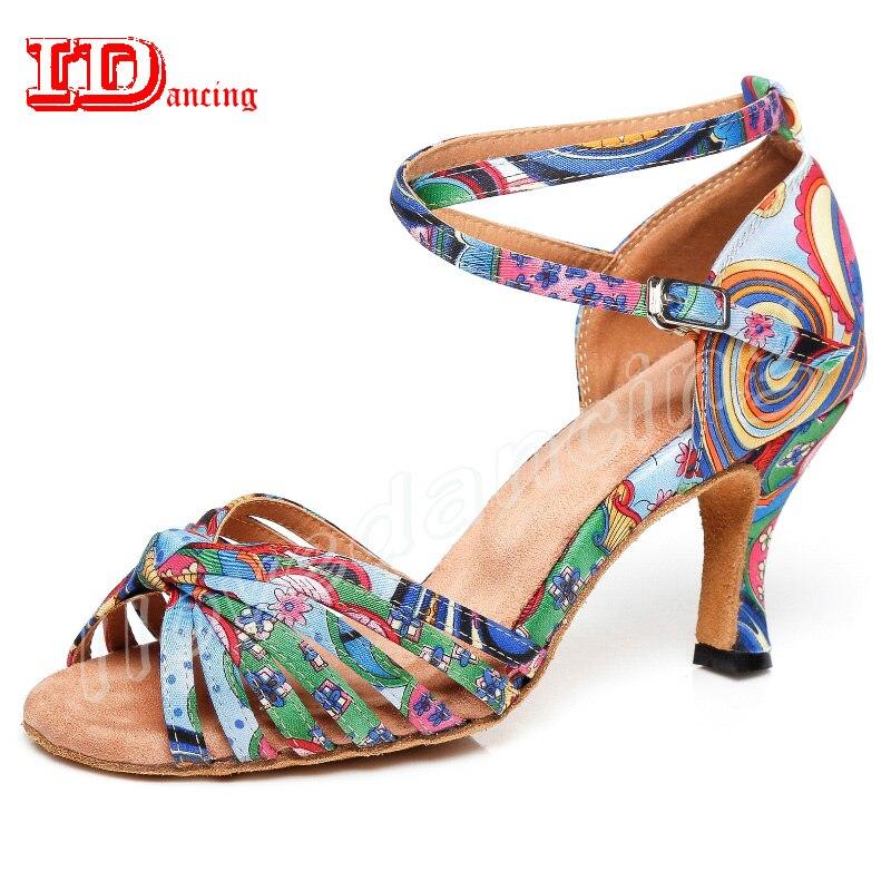Detail Feedback Questions about IDancing Latin Ballroom Dancing Shoes Salas Latin  Shoes Jazz Waltz Square Shoes Tango Women Professional Latin Dance Shoes ... 6637862d6cf0