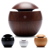 USB Mini Wooden Humidifier Aromatherapy Machine Aromatherapy Machine 130ml Water Tank Humidifier