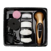 Портативный ручной перезаряжаемый автоматический электрический щетка для обуви Блестящий полировщик
