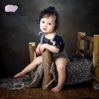 Newborn Baby Photography Handmade Wooden Bed Props Infant bebe fotografia Accessories Baby Boy Girl Photo Shoot Studio Bed Props