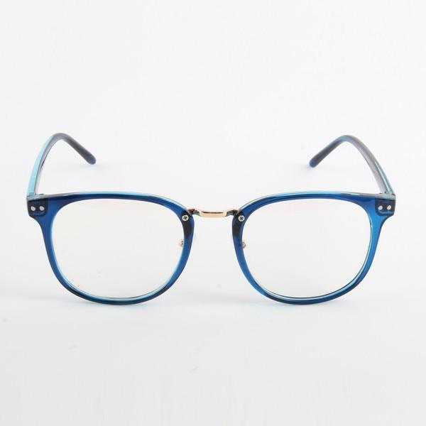 Moda Unisex Marea Gafas ópticas Marco redondo Anteojos Metal Arrow - Accesorios para la ropa - foto 3