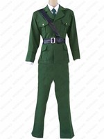 Anime Axis Powers APH Hetalia England Arthur Kirkland quân sự uniform Cosplay Costume Custom made