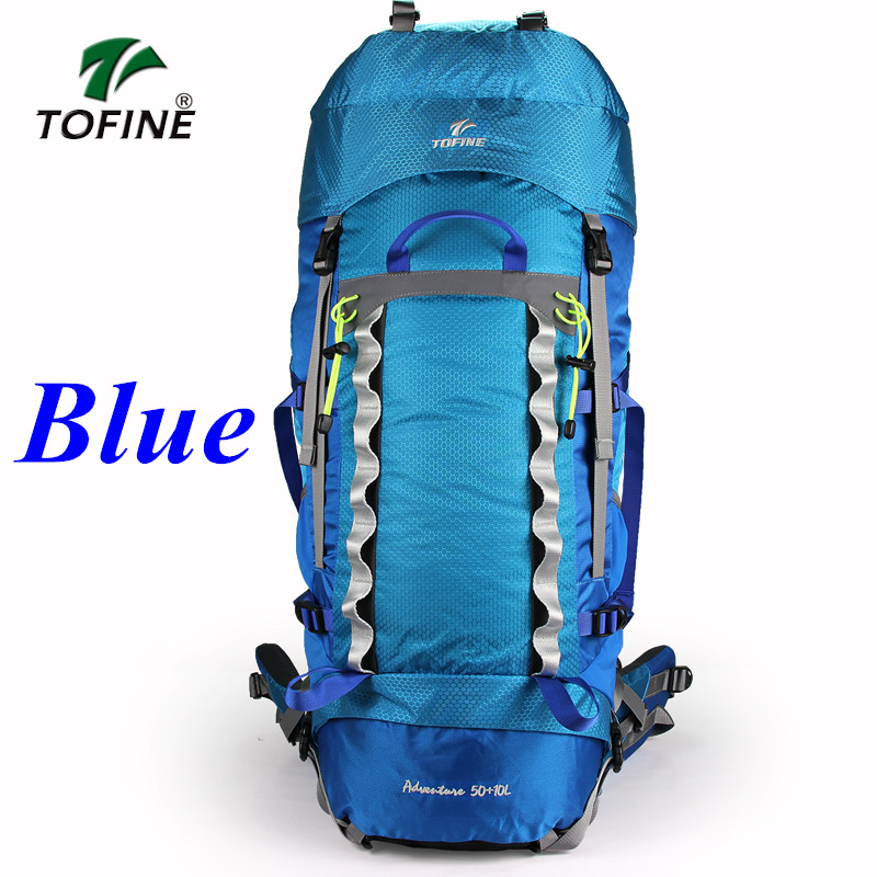 TOFINE 60L Outdoor Mountaineering Bags Water Shoulder Bag Men And Women backpack Travel Hiking tactical backpack Camping