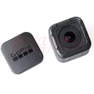Image 3 - ゴープロカメラアクセサリーのgopro hero 4セッションカメラレンズキャップカバーボックスカバー保護フィット移動プロヒーロースポーツカメラ