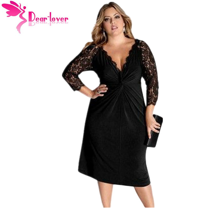 Popular Little Black Dress Plus Size Women-Buy Cheap Little Black ...