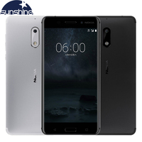 Original Unlocked Nokia 6 Android Mobile Phone Octa Core 5 5 16 0 MP 4G RAM