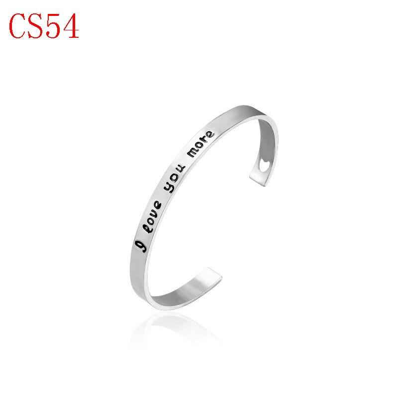Новое поступление классические украшения хорошее браслет для женщины пару подарок CS54