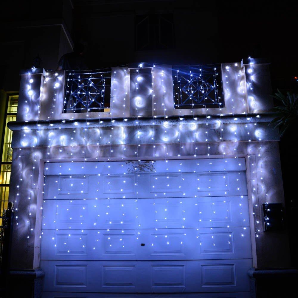 4M 96 LEDS 220v / 110v AC LED string Percutian Krismas cahaya untuk - Pencahayaan perayaan - Foto 3