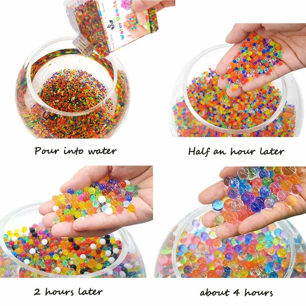 013e65c06e29 ... 20000 Pcs Box Water Gun Bullet Toy Orbeez Soft Crystal Water Paintball  Gun Bullet Grow ...