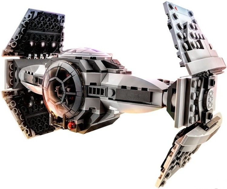 354 pcs Étoile Le Réveil de La Force CRAVATE Prototype Avancé Blocs De Construction Jouets Cadeaux Compatible Avec Lego
