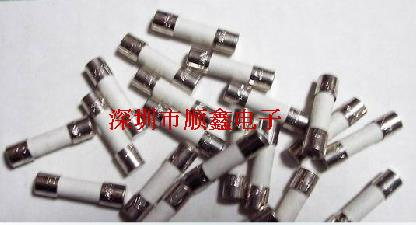 Monomer Ceramic Tube 5 * 20MM T2.5A 250V Ceramic Fuse Slow Blow
