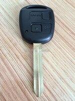 Excelente Control Remoto Clave (60081) Para Toyota Camry/Prado/Corolla 433 MHZ/315 MHZ Con 4C Chip En El Interior 2 Botón TOY43 Hoja Sin Cortar
