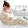 пижама одежда для беременных платье для беременных для беременных Беременные женщины пижамы кормящих грудью одежду костюм пижама 2016 женские платья женская пижама ночнушка товары для беременных Одежду для беременных