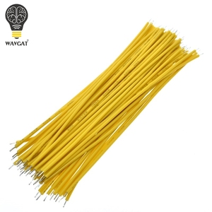 Image 4 - 100PCS Tin Plated Breadboard PCB Solder Cable 24AWG 10CM Fly Jumper Wire Cable Tin Conductor Wires 1007 24AWG Connector Wire